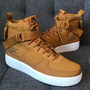 NIKE safari SF Air Force 1 AF1 DESERT OCHRE mid 8